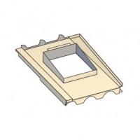 Embase étanchéité tuiles pour Luminance et Tradinov carrée