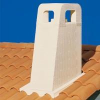 Sortie de toit Provence avec conduit Inox-Galva