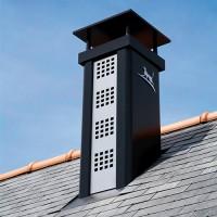 Sortie de toit Luminance hauteur 80 cm avec conduit Efficience