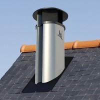 Sortie de toit Optimale hauteur 80 cm avec conduit Efficience