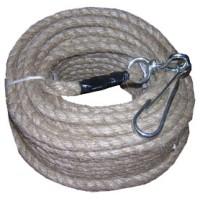 Ensemble corde mousqueton lg 25 m