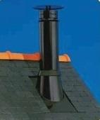 Sortie de toit inox inox
