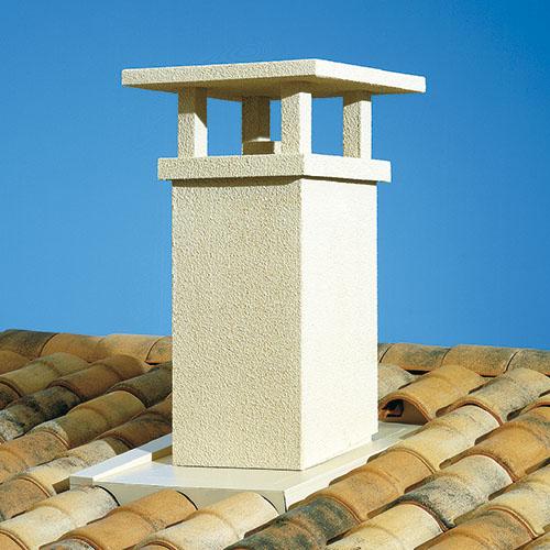 Sortie de toit traditionnelle